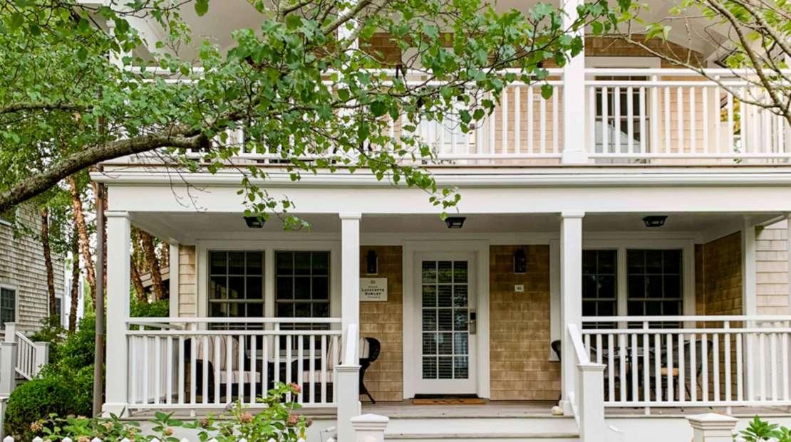 Front cottage porch