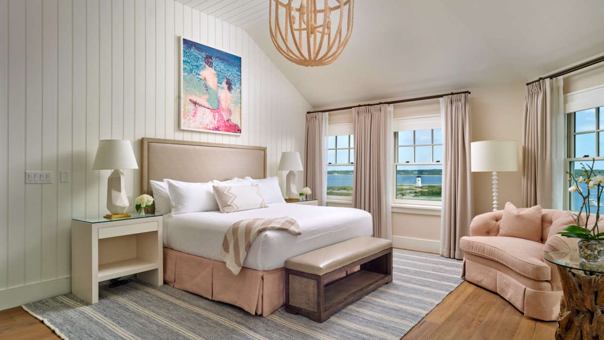 Bedroom suite with beautiful views