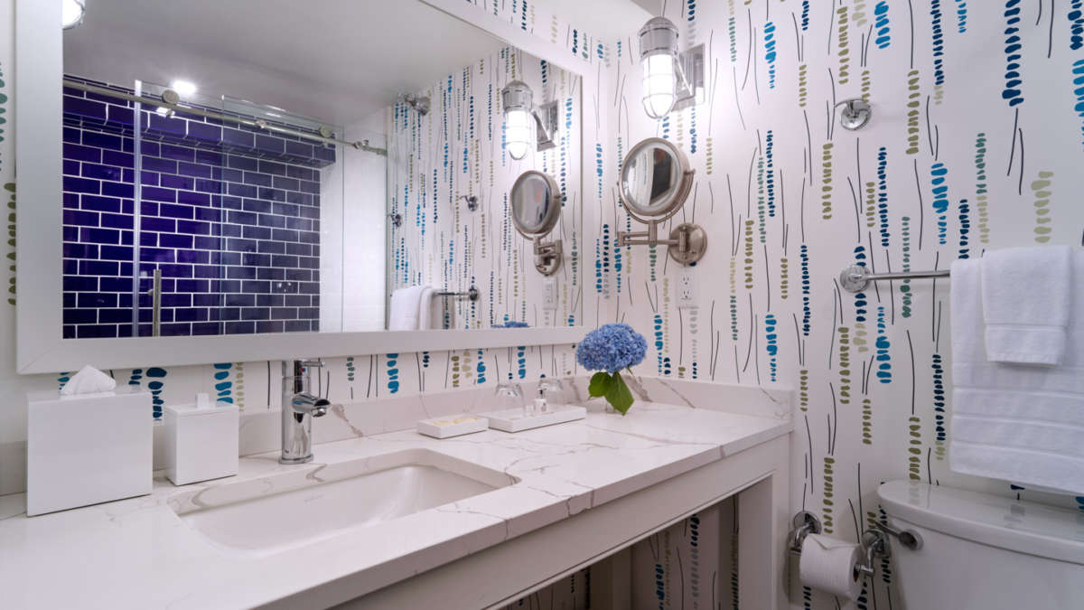 Beautiful modern renovated bathroom