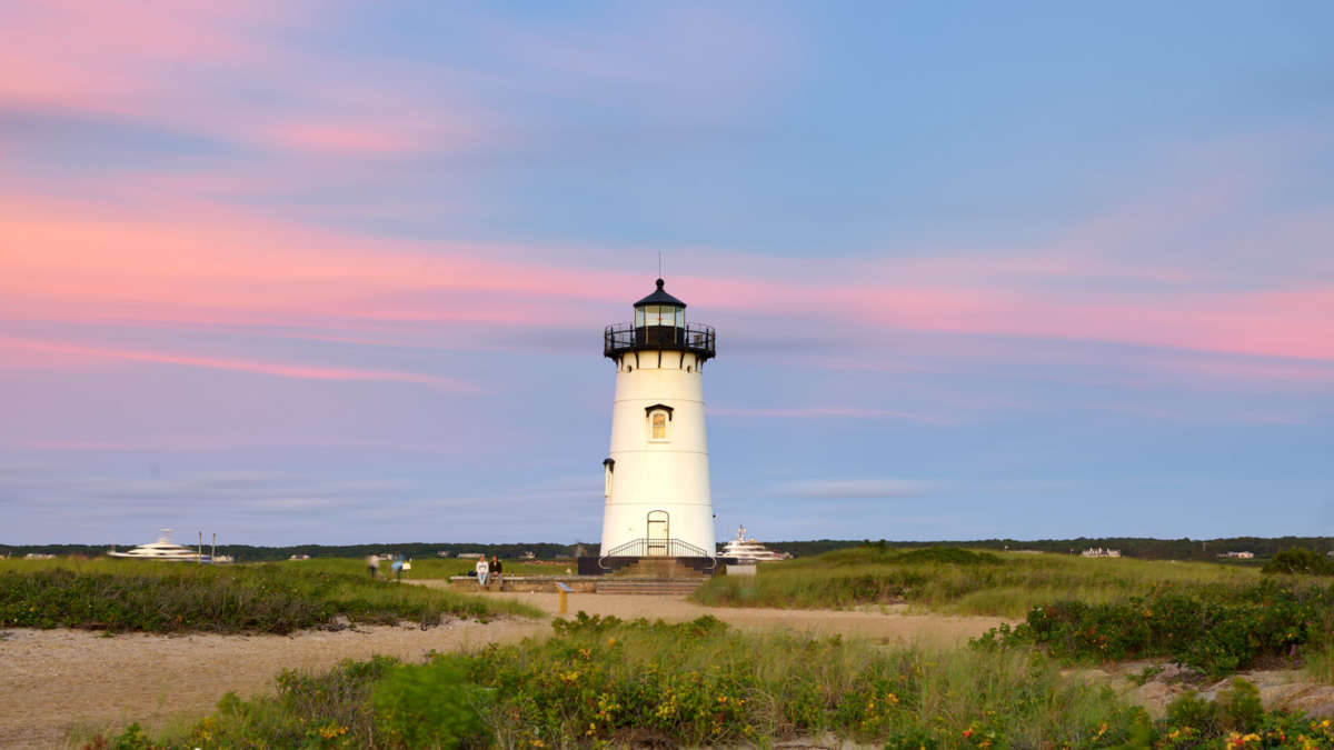 Lighthouse as sunrise