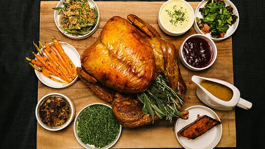 Thanksgiving Dinner at Bettini