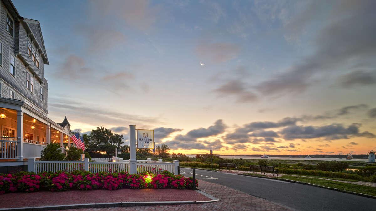 Harbor View Hotel at Sunrise