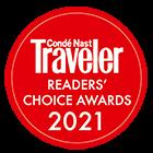 Conde Nast Traveler Readers' Choice Award